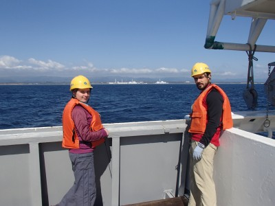 Sampling during a cruise in May of 2013 directly off the failed Fukushima nuclear power plant